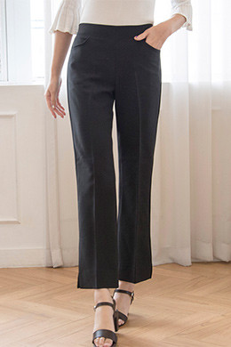 P8230 Rear Bending Boot Cut Slacks (SML)