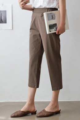 P9052 linen color scheme 7 piece pants (SMLXL)